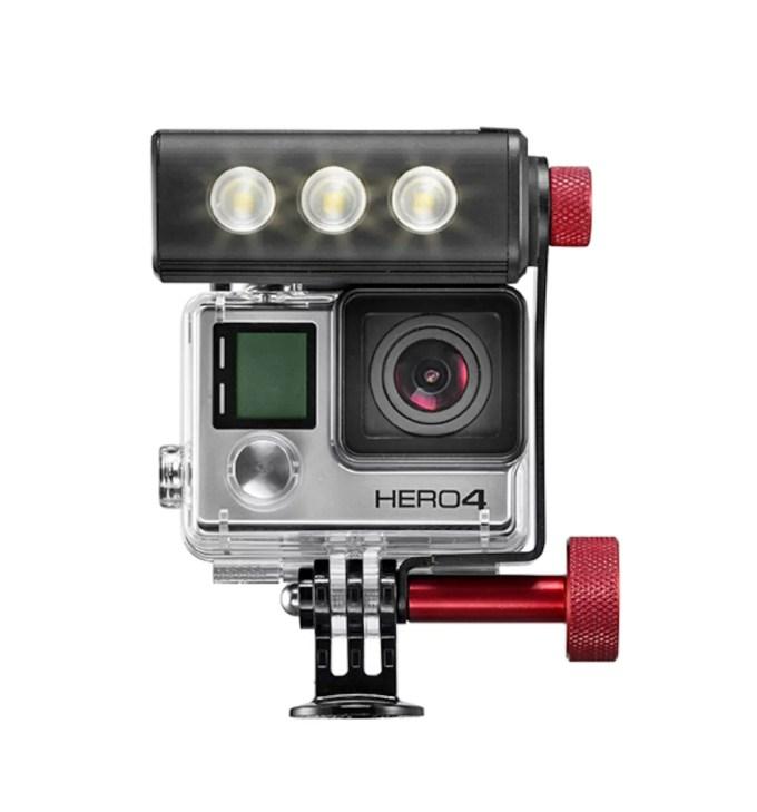 Off road GoPro®用LEDライト MLOFFROAD
