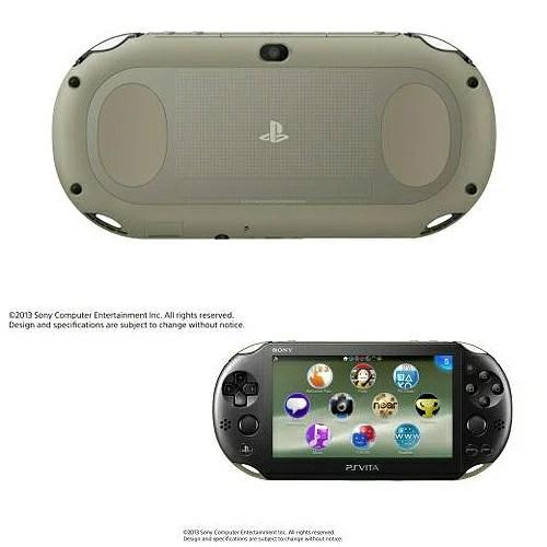 【中古】[本体][PSVita]PlayStationVita Wi-Fiモデル カーキ/ブラック(PCH-2000ZA16)(20131010)