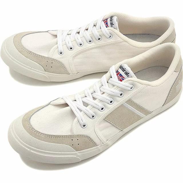 Admiral アドミラル スニーカー 靴 INOMER イノマー White/White (SJA