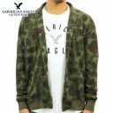 アメリカンイーグル スウェット メンズ 正規品 AMERICAN EAGLE トレーナー ジャケット AE CAMO FLEECE JACKET 0195-9879-329