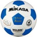 ミカサ MIKASAサッカーボール検定球5号【ネーム加工可】【白×青】【SVC502SBC-WB】