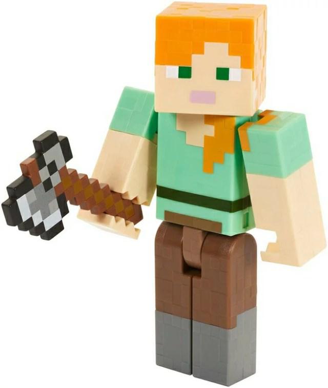 アレックス マテル社 マイクラ Minecraft Figure Minecraft Alex Series 4 Action Figure with Axe 送料無料 【並行輸入品】
