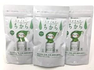 ミドリムシのちから 200粒×3パックセット【送料無料】