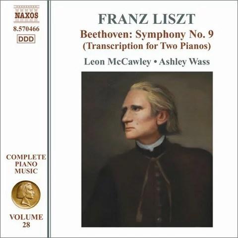 ベートーヴェン:交響曲第9番(リストによる2台ピアノ版)