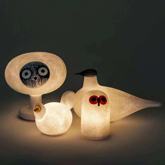 マジスマジス リンナット LED 照明 卓上ランプ イッタラ オイバ・トイッカ コラボ 吹きガラス MAGIS LINNUT...