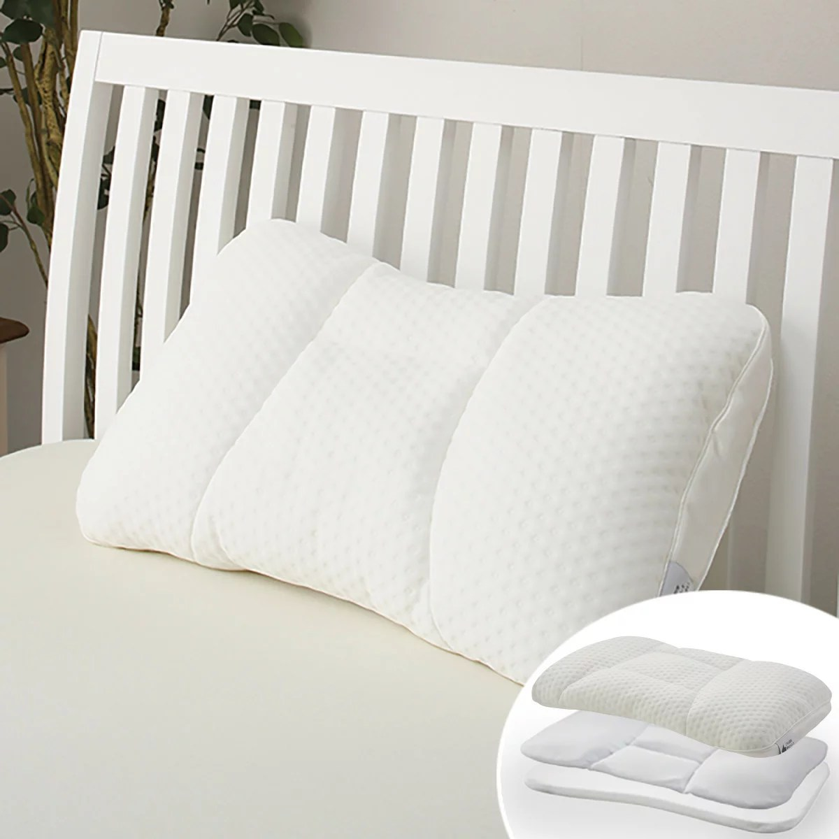 枕 パイプ枕 ポリエステル枕 肩こり 首こり 洗える かため パイプまくら高さが