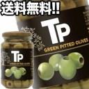 【7月5日出荷開始】富永貿易 TPグリーンオリーブ 340g瓶×12本[賞味期限:1年以上]1ケース1配送でお届け[送料無料]