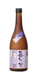 【北海道産さつま芋使用】25%紫芋 焼酎『喜多里』 720ml
