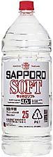 札幌酒精「 25% サッポロソフト・PT」 4L×4本入リ(1箱)