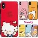 [Sanrio Characters Mirror Door Card Bumper サンリオ キャラクターズ ミラー ドア カード バ……