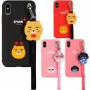 [KAKAO Friends Love Strap Case カカオ フレンズ ラブ ストラップケース] スマホケース iPhon……