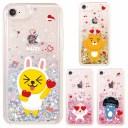 [KAKAO Friends Love Glitter カカオ フレンズ ラブ グリッター] スマホケース iPhone X XS XR……