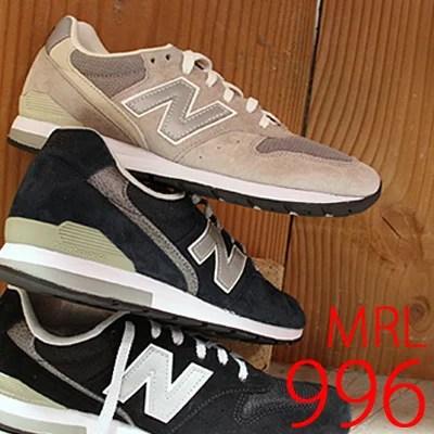 【 期間限定価格 】 【 日本正規取扱店 】 NEW BALANCE MRL996 AG( クール グレー ) AN( ネイビー ) BL( ブラック ) ニュ