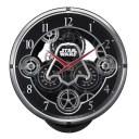 リズム RHYTHM スター・ウォーズ 掛け時計 電波からくり 4MN533MC02 ブラック