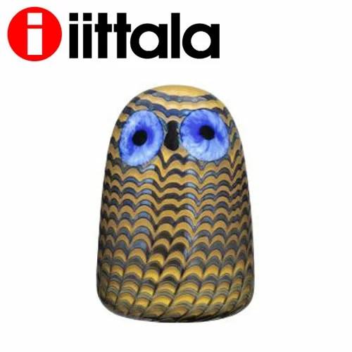 iittala イッタラ Birds by Toikka バード フクロウ(子) 75×105mm Owlet glassbird『送料無料(一部地域除...