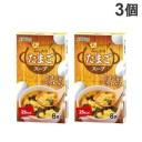 加藤産業 ふんわりたまごスープ 8P入×3個