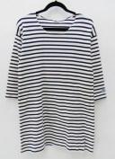 【中古】ORCIVAL/オーシバル バスクシャツワンピース サイズ:1 カラー:ホワイト系 / セレクト【f110】