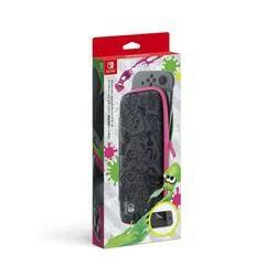 【新品/在庫あり】[ニンテンドースイッチ 周辺機器] Nintendo Switchキャリングケース スプラトゥーン2エディション (画面保護シート付き) [HAC-A-PSSAD]