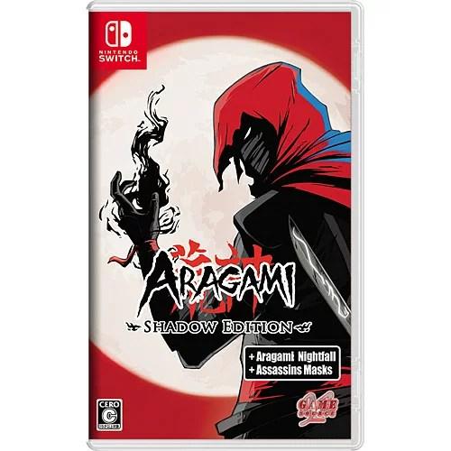 [08月01日発売予約][ニンテンドースイッチ ソフト] Aragami Shadow Edition (アラガミ シャドウエディション) [HAC-P-AQ4HB]