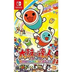 【新品/在庫あり】[ニンテンドースイッチ ソフト] 太鼓の達人 Nintendo Switchば?じょん! [HAC-P-AGGXA] *早期購入特典付