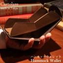 【エコバッグ付】カルトラーレ ハンモックウォレット(Cartolare 二つ折り財布 ウォレット ハンモック構造 上品 ビジネス シンプル メンズ 男性 大人)【送料無料 在庫有り※一部お取寄せ】