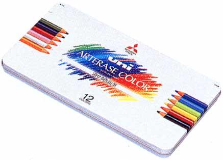 三菱鉛筆 色鉛筆 ユニ・アーテレーズカラー UAC12C 12色【 プレゼント ギフト 】【ペンハウス】 (2000)