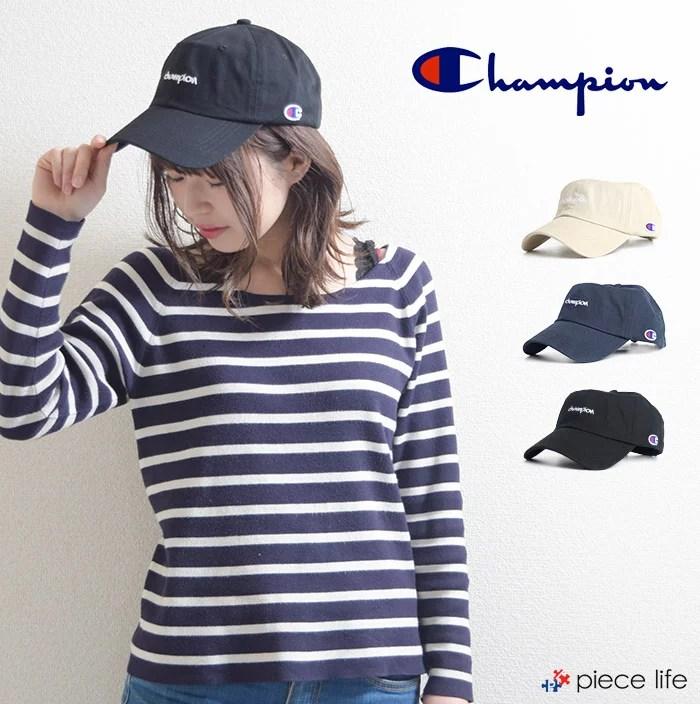 チャンピオン Champion CHAMPION 帽子 ロゴ刺繍 コットン ローキャップ /181-015A COTTON LOW CAP レディ...