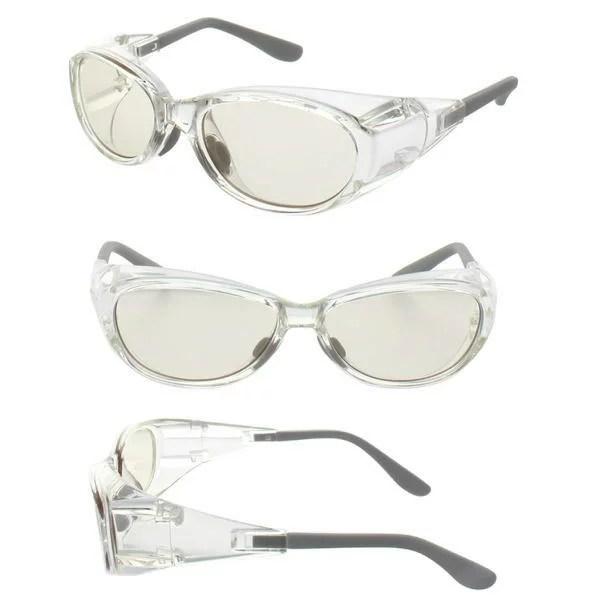 白内障サングラス 保護メガネ 術後専用 フード付 花粉防止 花粉症対策メガネ シンプル 柔らかい ソ