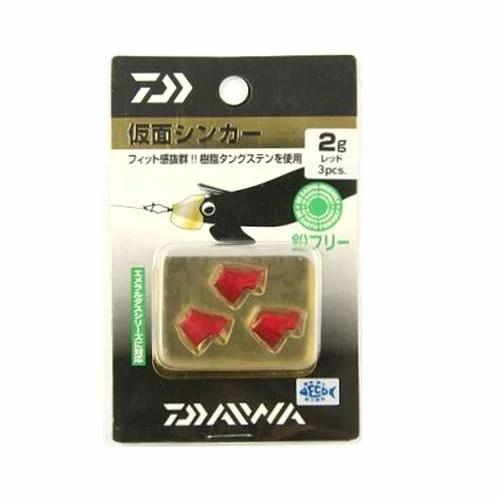 ダイワ 仮面シンカー 2g レッド【ゆうパケット】
