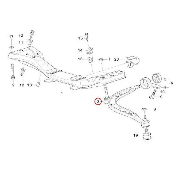【楽天市場】BMW E36 Z3 ロアアーム/コントロールアーム 左右 耐久重視 新品 31126758513