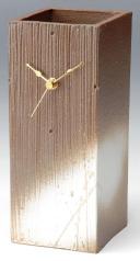 【送料無料】G5-0408 レッドタワー (信楽・置時計)【ヤマ庄陶器】