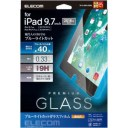 エレコム 9.7インチ iPad 2018年モデル用 保護フィルム ガラス TB−A18RFLGGBL