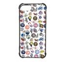 NBA ALL OVER ロゴ iPhone6 / 6S iPhone7 iPhone8 ケース ハードカバー ホワイト