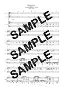 【ダウンロード楽譜】 Hide & Seek/AAA(ピアノ弾き語り譜 初級2)