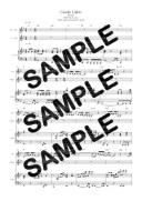 【ダウンロード楽譜】 Candle Lights/BoA(ピアノ弾き語り譜 初級1)