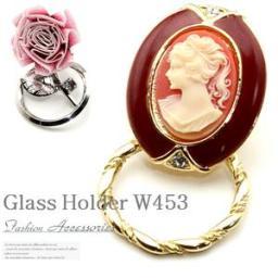 日本製 グラスホルダー メガネホルダー スカーフリング ブロ