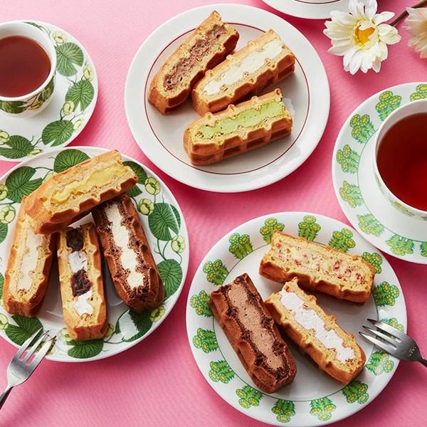【送料込】ワッフルケーキ10個入り 母の日 早割 スイーツ