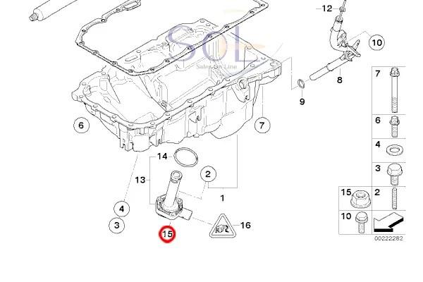 【楽天市場】BMW E46 E90 E91 E92 E93 E39 エンジンオイルレベルセンサー 318i 320i