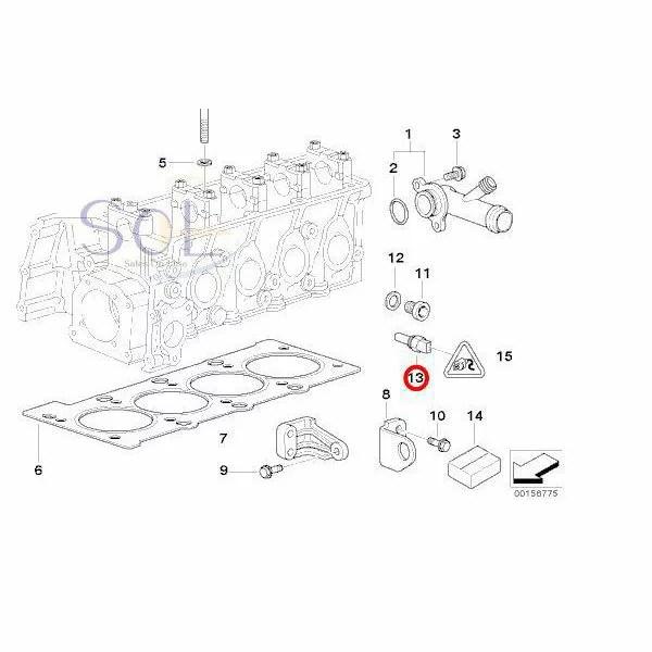 【楽天市場】BMW E87 E46 E90 E39 水温センサー 油温センサー ダブルテンプセンサー 116i