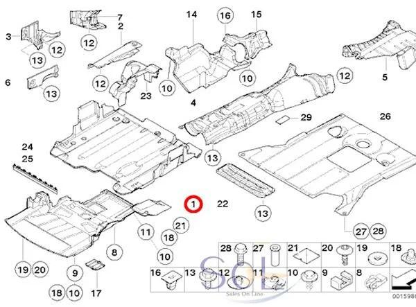 【楽天市場】BMW E46 エンジン アンダーカバー 318i 320i 323i 325i 328i 330i