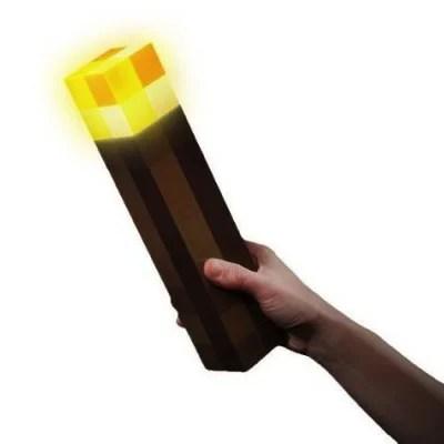 MINECRAFT マインクラフト  ライトアップ トーチ  松明 ライト Think Geek Wall Torch・お取寄