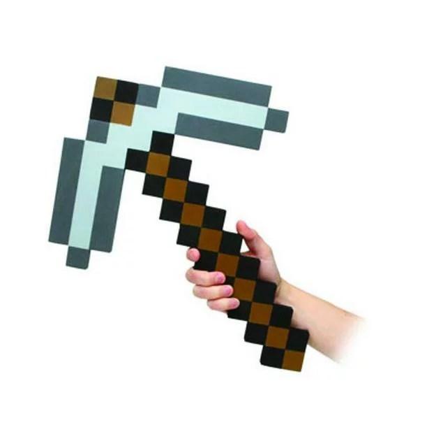Minecraft ストーン・ピックアックス ピッケル マインクラフト Minecraft Foam Pickaxe 斧 アイテム コスプレ