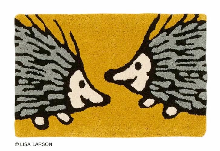 リサ・ラーソン おしゃべりイギー マット【サイズ:約50cm×80cm】[QB1228-75]デザイナーズブランド LISA LA...