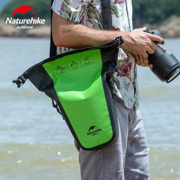 【Naturehike】防水カメラバッグ 調整できるショルダーベルト付 一眼レフ カメラケース バッ