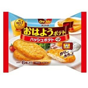【M 24個セット♪】 ハインツ オレアイダ おはようポテト (6枚入)×24個 冷凍食品 オーブン調理 ハッシュポテト