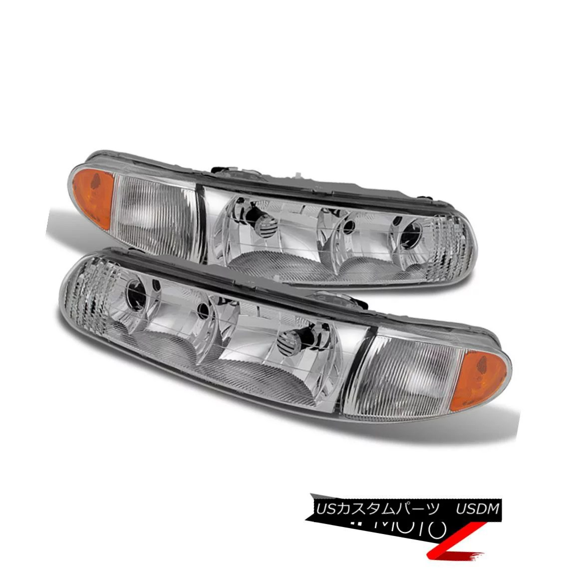 hight resolution of  1997 2005 buick century regal complete front headlights assembly replacements 1997 2005