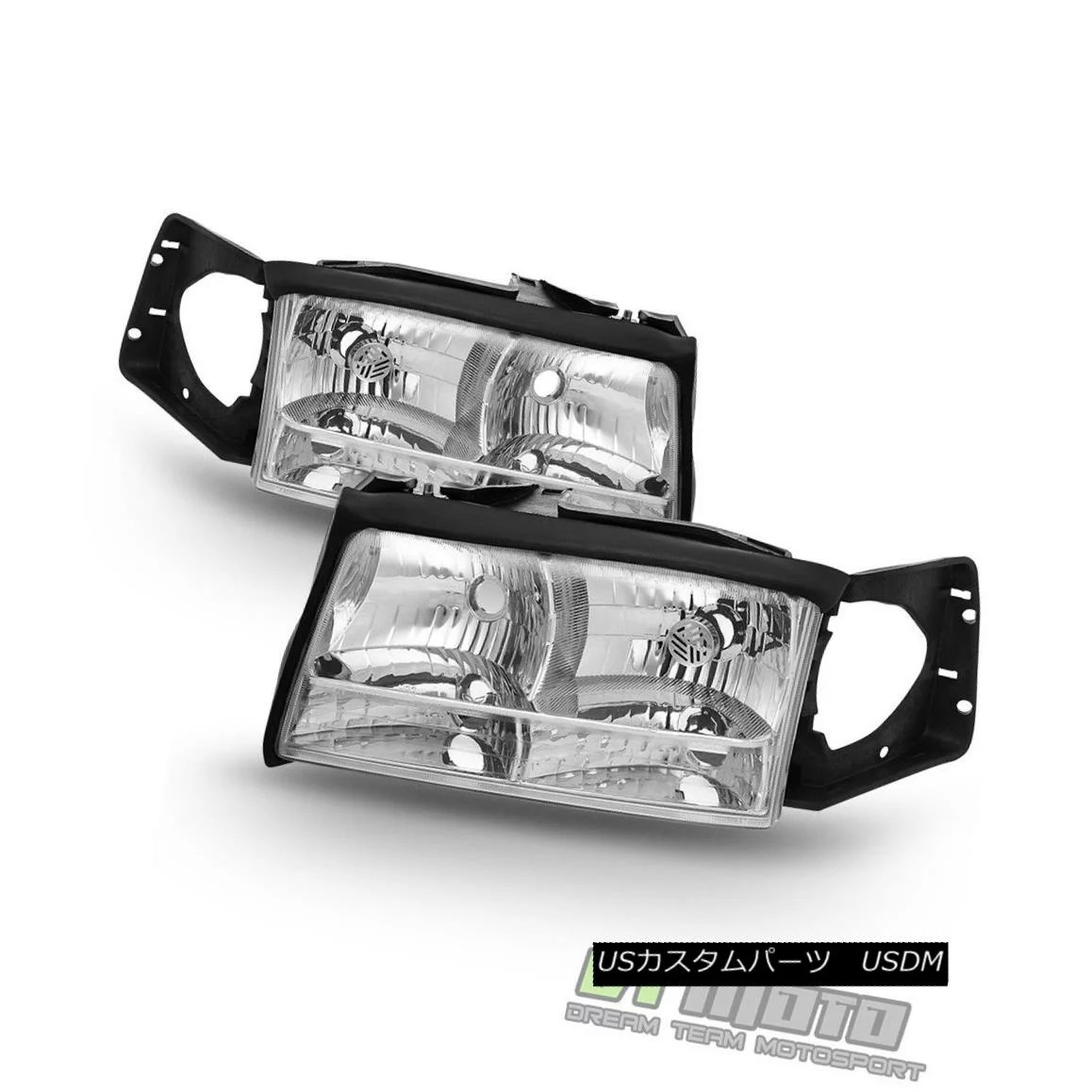 hight resolution of  1997 1999 cadillac deville headlights headlamps replacement set 97 99 left right 1997 1999 cadillac deville