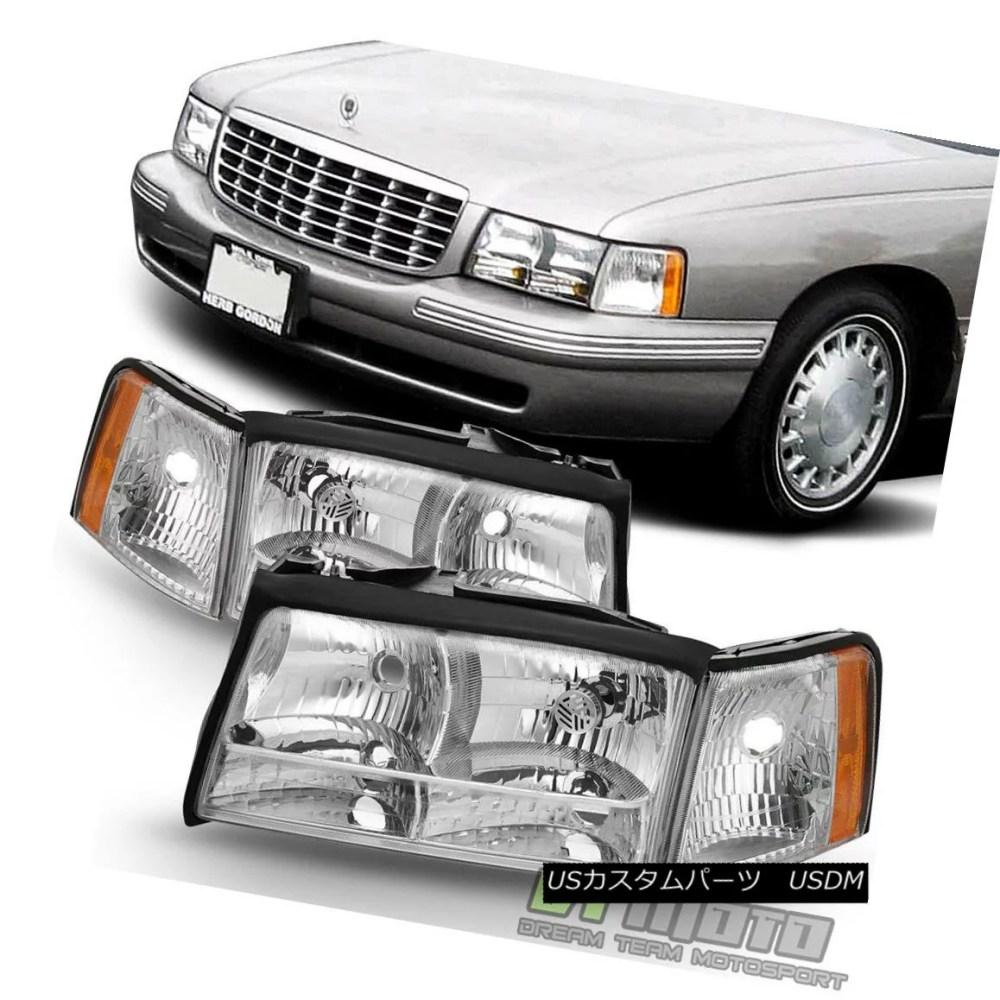 medium resolution of  replacement 1997 1998 1999 cadillac deville headlights headlamps w corner lights 1997 1998 1999