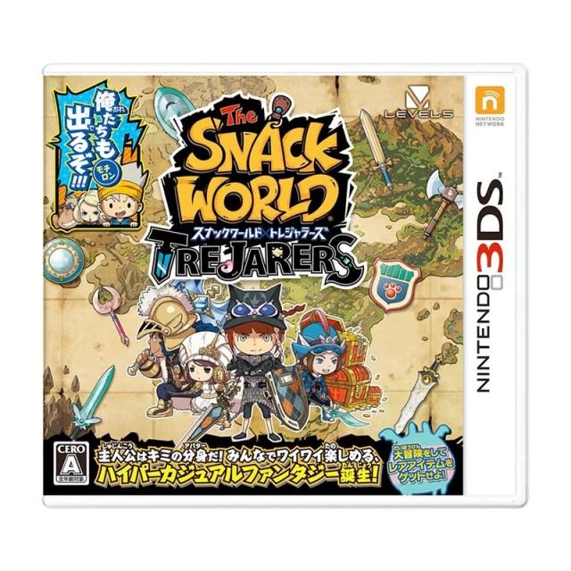 【送料無料】 3DS スナックワールド トレジャラーズ
