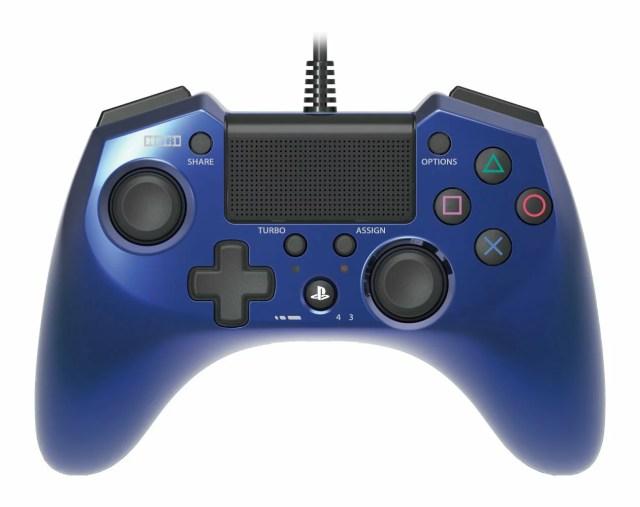 【PS4 PS3】ホリパッド FPSプラス ブルー